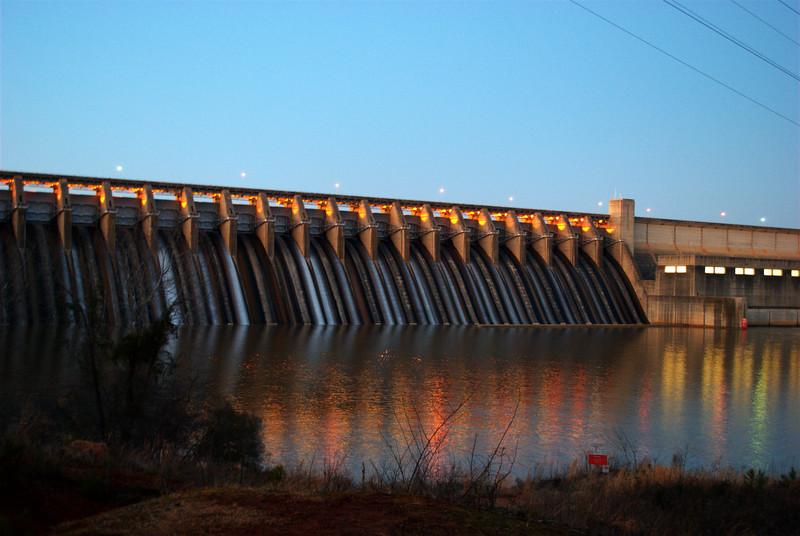 Thurmond Dam, 2/20/10