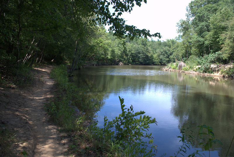 Side trail along Sweetwater Creek. Sweetwater Creek State Park, 07/29/2012