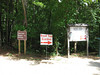 Signs at the Visitors Center. Sweetwater Creek State Park, 07/29/2012