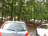Parked at the Visitors Center. Sweetwater Creek State Park, 07/29/2012
