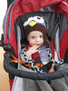 Stephanie's son Landon looking cute in his owl hat. Adventure in Midtown, 03/12/2013