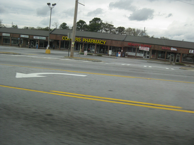 Entering Conyers, 03/31/2013