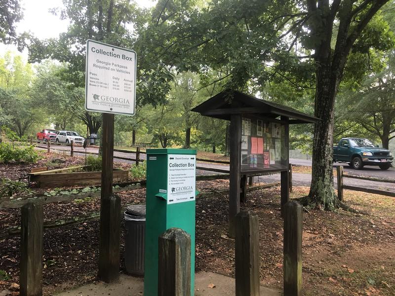 "James H. ""Sloppy"" Floyd State Park, Summerville, Georgia, 9/28/2019."