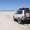 On the California Immigrant Trail, getting ready to cross the Playa with the Black Rock Point in that background