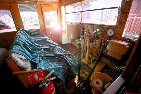 Inside Fred's Cabin
