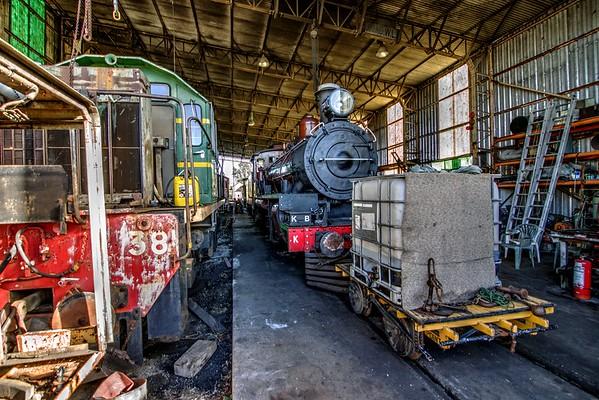 "The ""Ken Biggs"" Steam Locomotive"