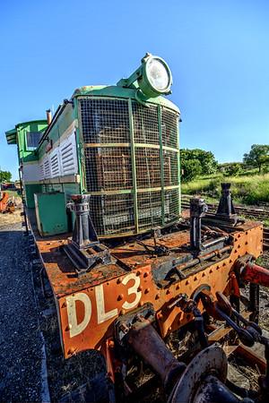 Queensland Rail Diesel Locomotive #DL3