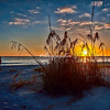 Sunset over the Gulf, Sanibel
