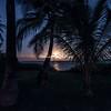 Setting Moon over Kealakekua Bay