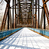 Old Chain of the Rocks Bridge, Mississippi River