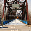 Old Chain of the Rocks Bridge, Illinoise