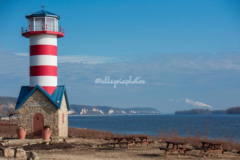 Grafton Lighthouse, Illinois