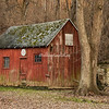 Old barn, Elsah, Illinois