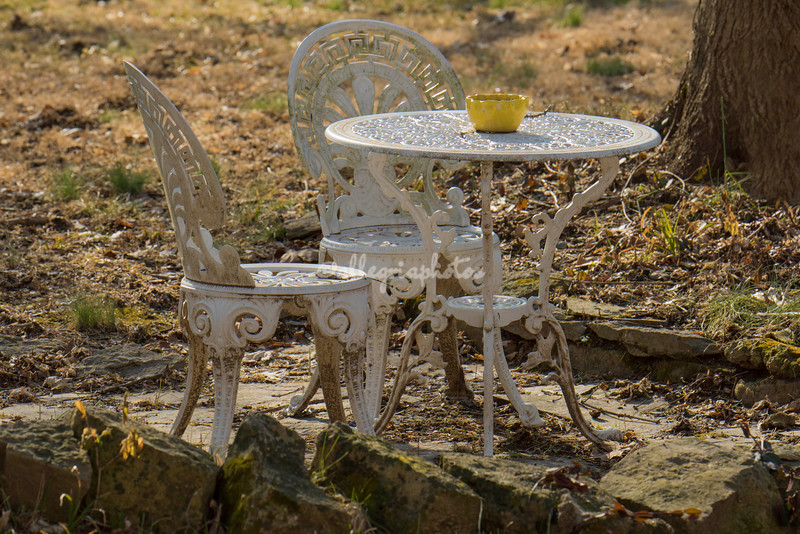 Garden Furniture, Elsah, Illinois