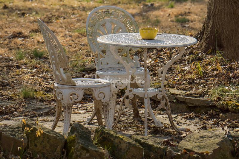 Garden Furniture, Elsah, Illinois