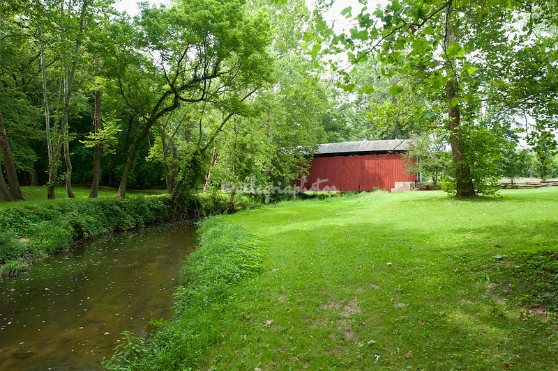 Billie Creek Covered Bridge, Indiana