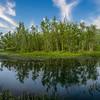 Panorama of the lake at Westover Farm, Steelville, Missouri, USA