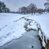 Winter in St Louis, Missouri, USA