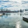 Winter Scene in Forest Park, St Louis