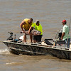 Fishing on the Mississippi River, St Louis, Missouri, USA