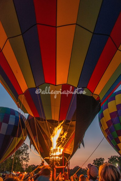 Fire devils, Hot Air Balloons, St Louis