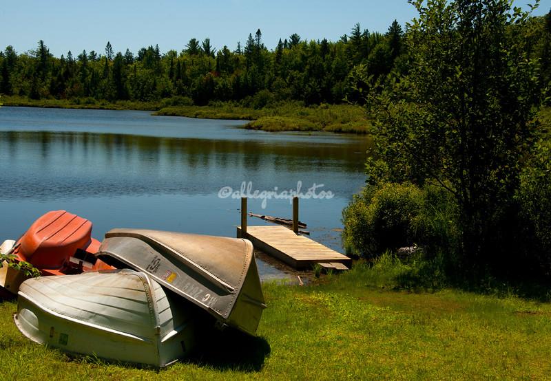 Hovey Lake, Munising, Michigan