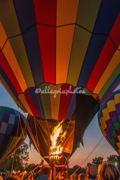 Fire devils, Hot Air Balloons, St Louis