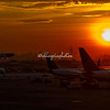 Sunrise, Newark Liberty Airport, New Jersey