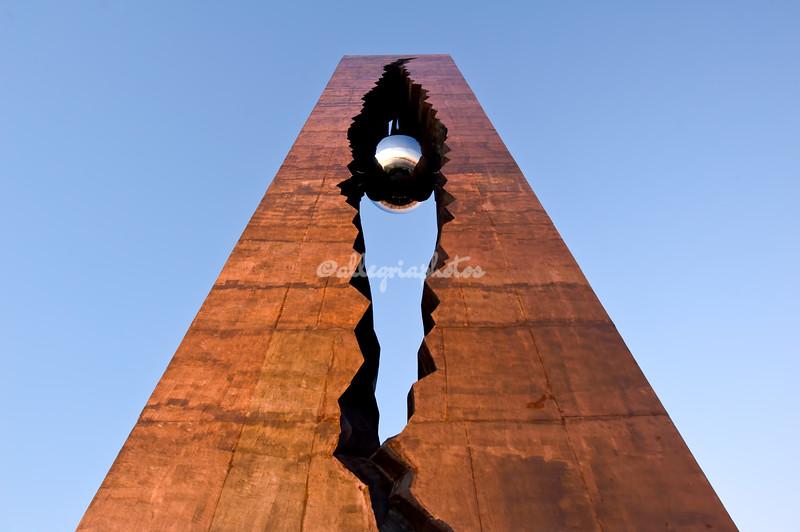Tear Drop 9/11 Memorial, Bayonne, New Jersey
