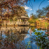 Autumn reflections, New York Botanical Garden, New York City