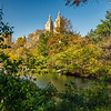 Across the lake, Central Park, New York, City