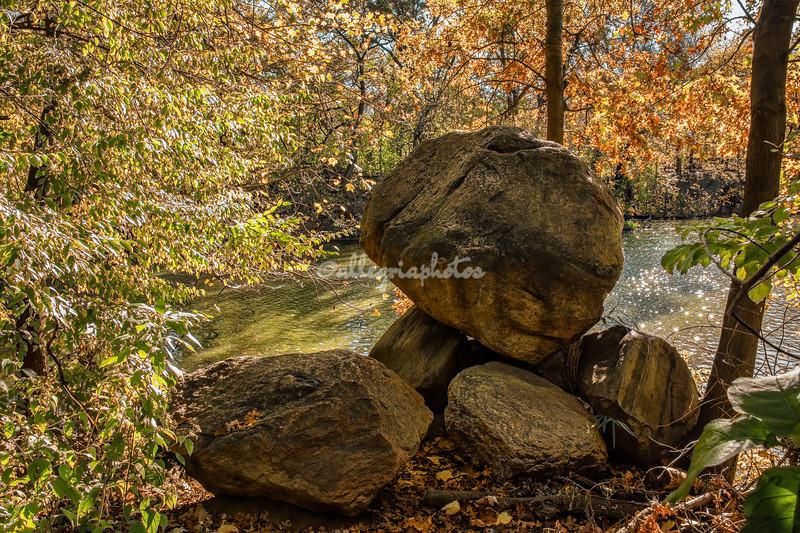 A rocky outcrop, Central Park, New York City