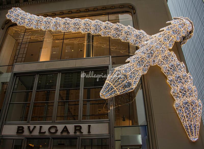 The BVLGARI Building, New York