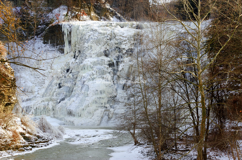 Frozen Ithaca Falls, Ithaca, New York