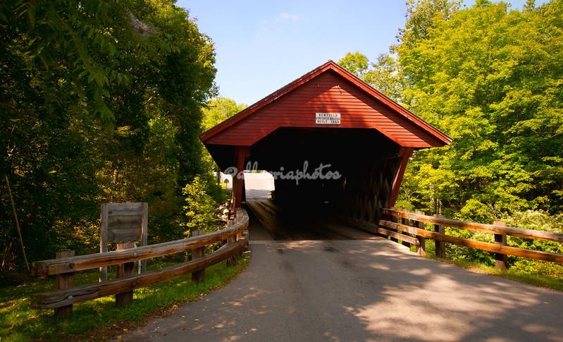 Newfield Covered Bridge, New York
