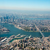 Lower Manhattan and Williamsburg Bridge, New York city