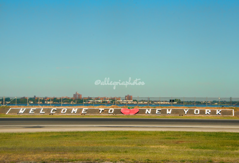 Welcome To New York! La Guardia airport