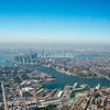 Lower East Side of Manhattan and Three Bridges