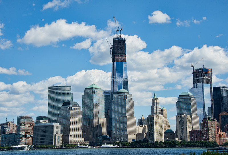 Manhattan Skyline with One World Trade Center