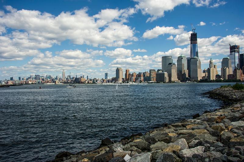 Manhattan Skyline with One World Trade Center