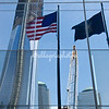 One World Trade Center - reflection in glass
