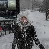 Fun in the snow, NYC