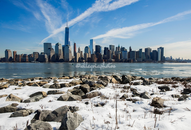 Manhattan from Liberty State Park, New Jersey