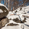 Icy Boulders in Central park