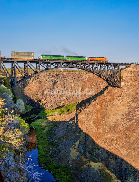 Peter Skene Ogden Rail Bridge, Oregon