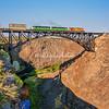 Peter Skene Ogden Rail Bridge, Oregon