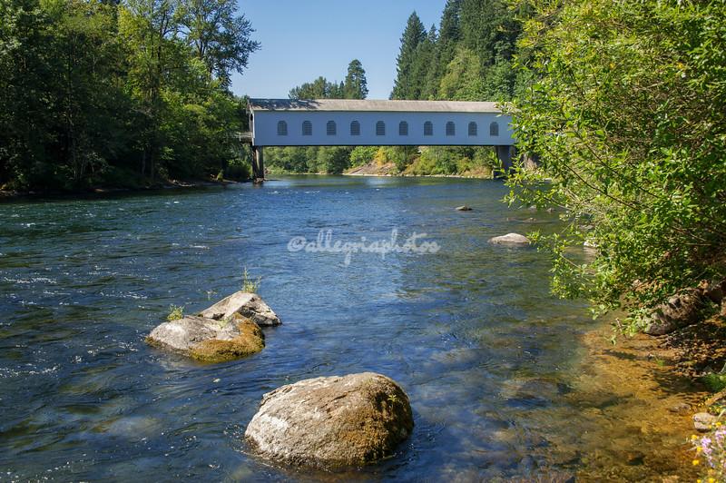 Goodpasture Covered Bridge, Oregon