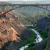 Peter Skene Ogden Rail Bridge over Crooked River Gorge, Oregon