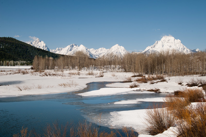 Vista at Oxbow Bend, Grand Teton National Park, Wyoming