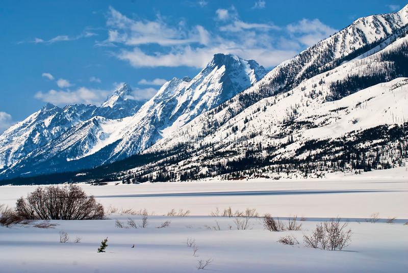 Jackson Lake, Tetons